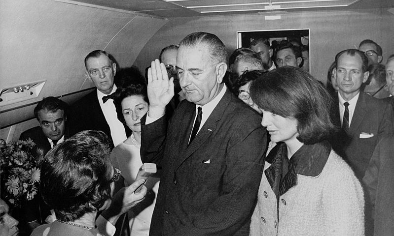 Lyndon Johnson Became President of USA in 1963