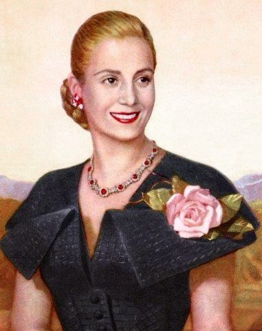 Eva Peron Became First Lady of Argentina in 1946